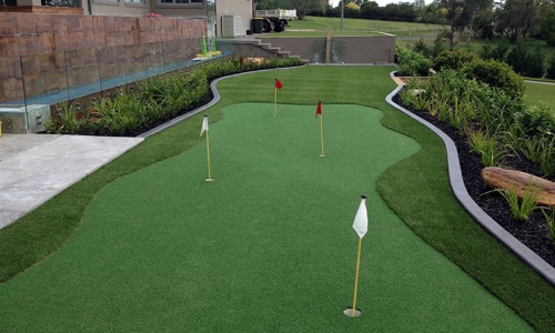 Artificial Grass Golfing Green