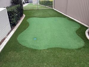 Backyard Mini Golf Hole